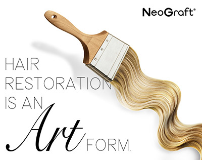 Hair Restoration is an Art